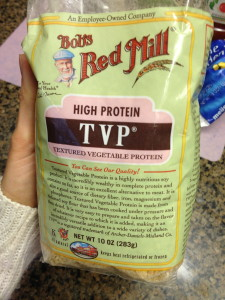 Texturized Vegetable Protein. Friend or foe, you decide.