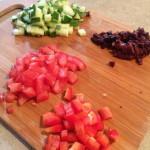 Chop your veggies