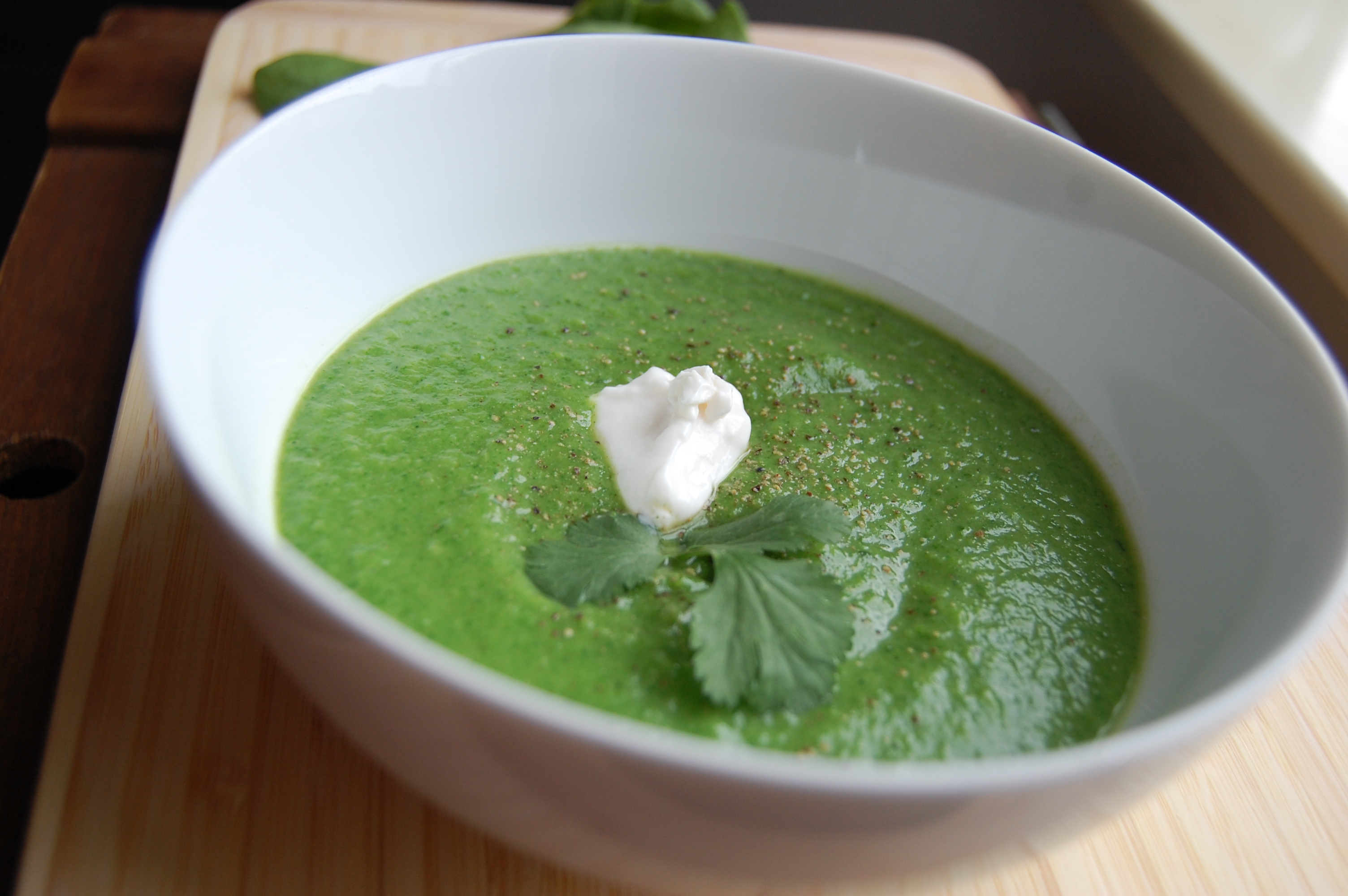 Spinach Soup 4