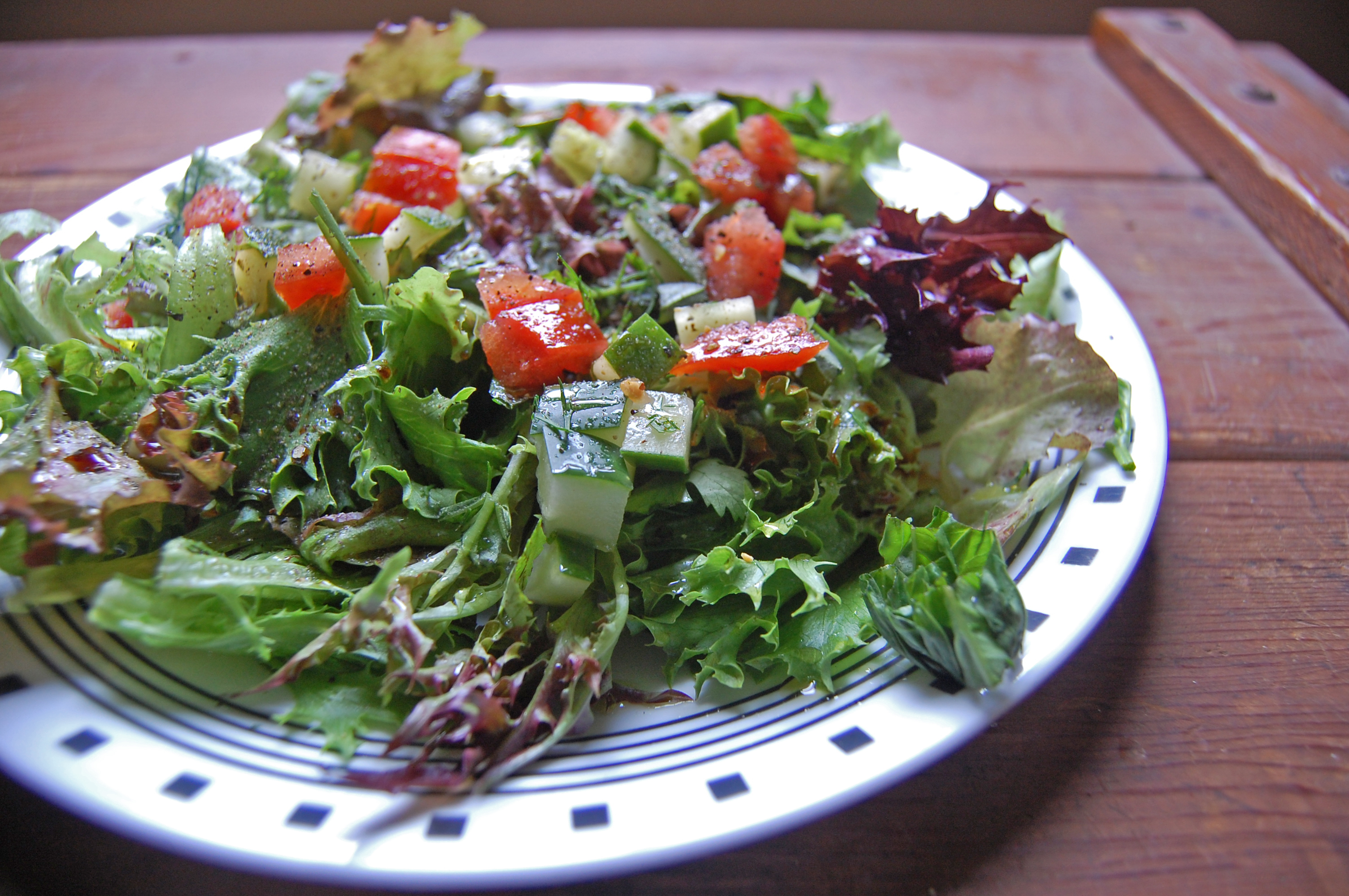Simple Herb Salad - Are You Kitchen Me?!
