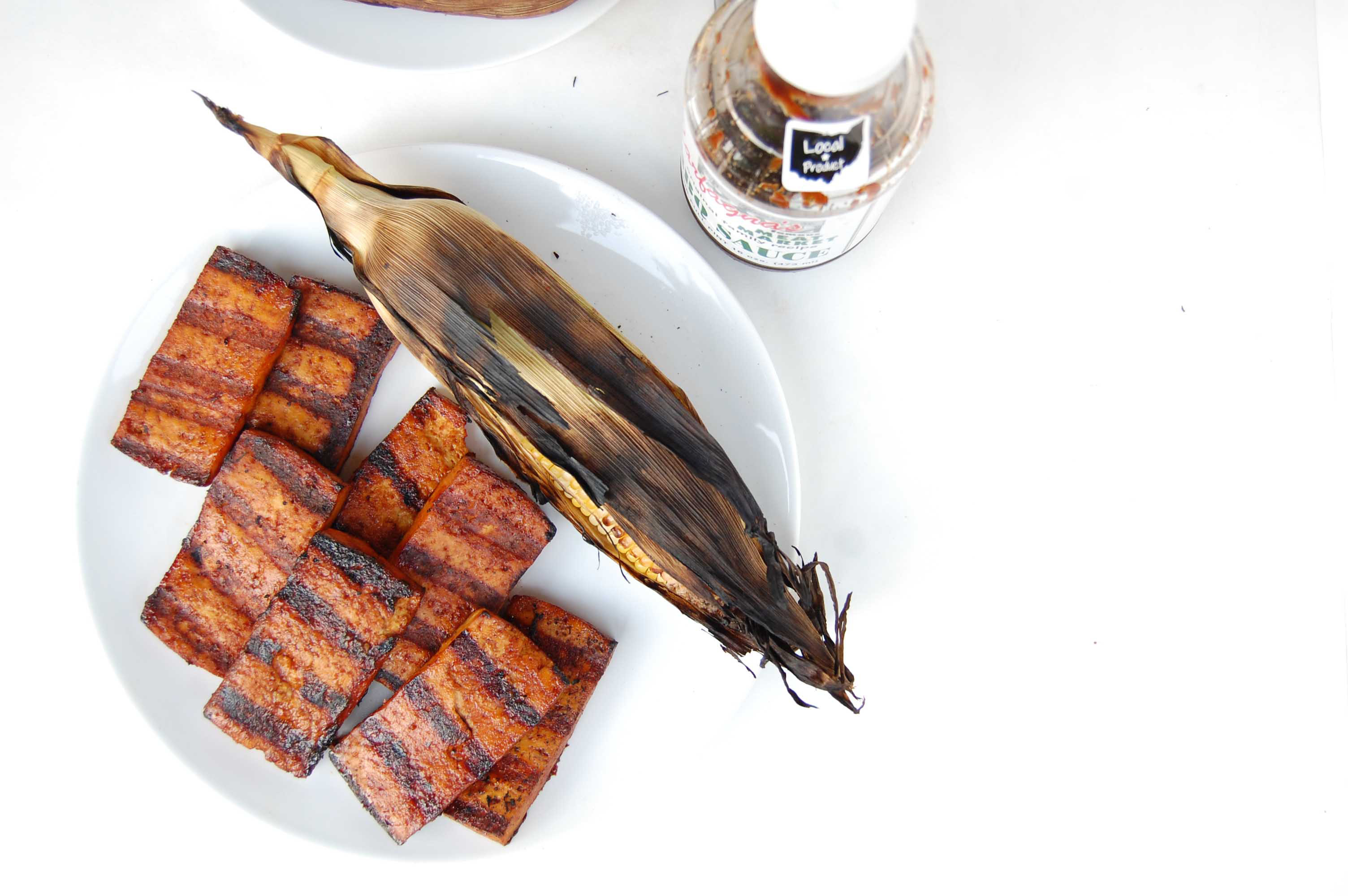 BBQ Beer Grilled Tofu 5
