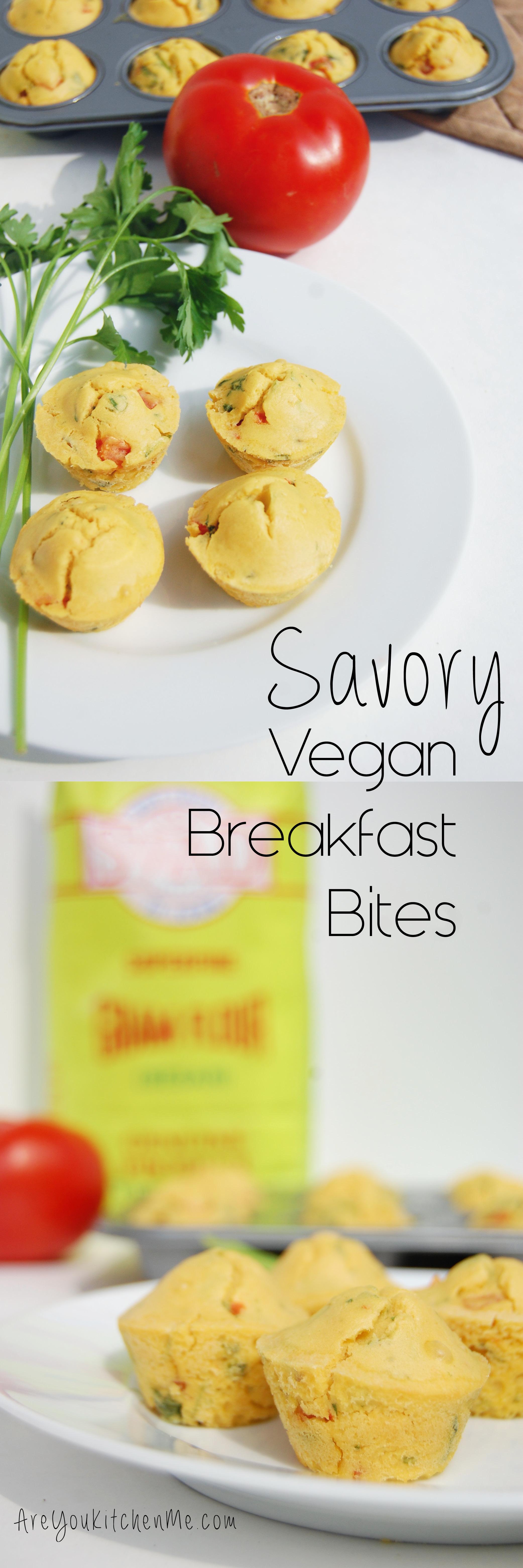 Savory Vegan Breakfast Bites