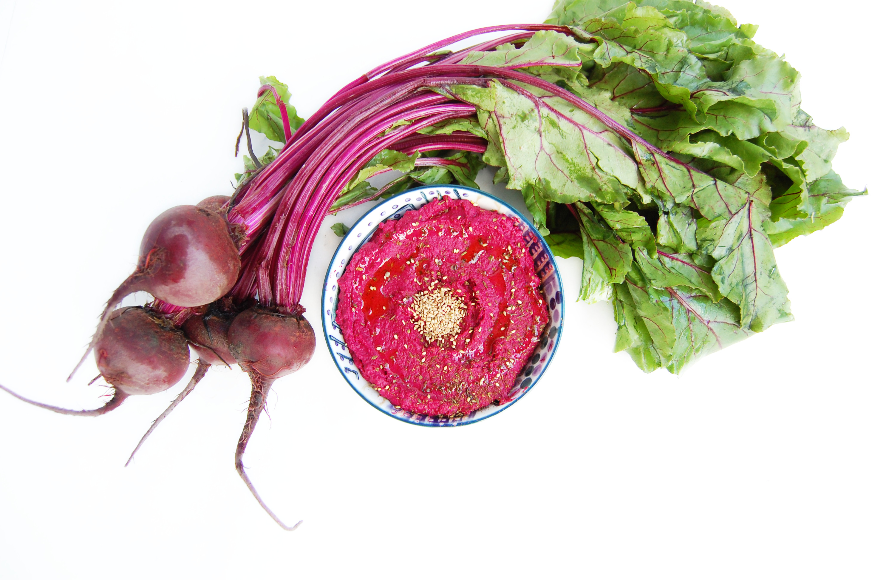 Roasted Beet Hummus | AreYouKitchenMe.com