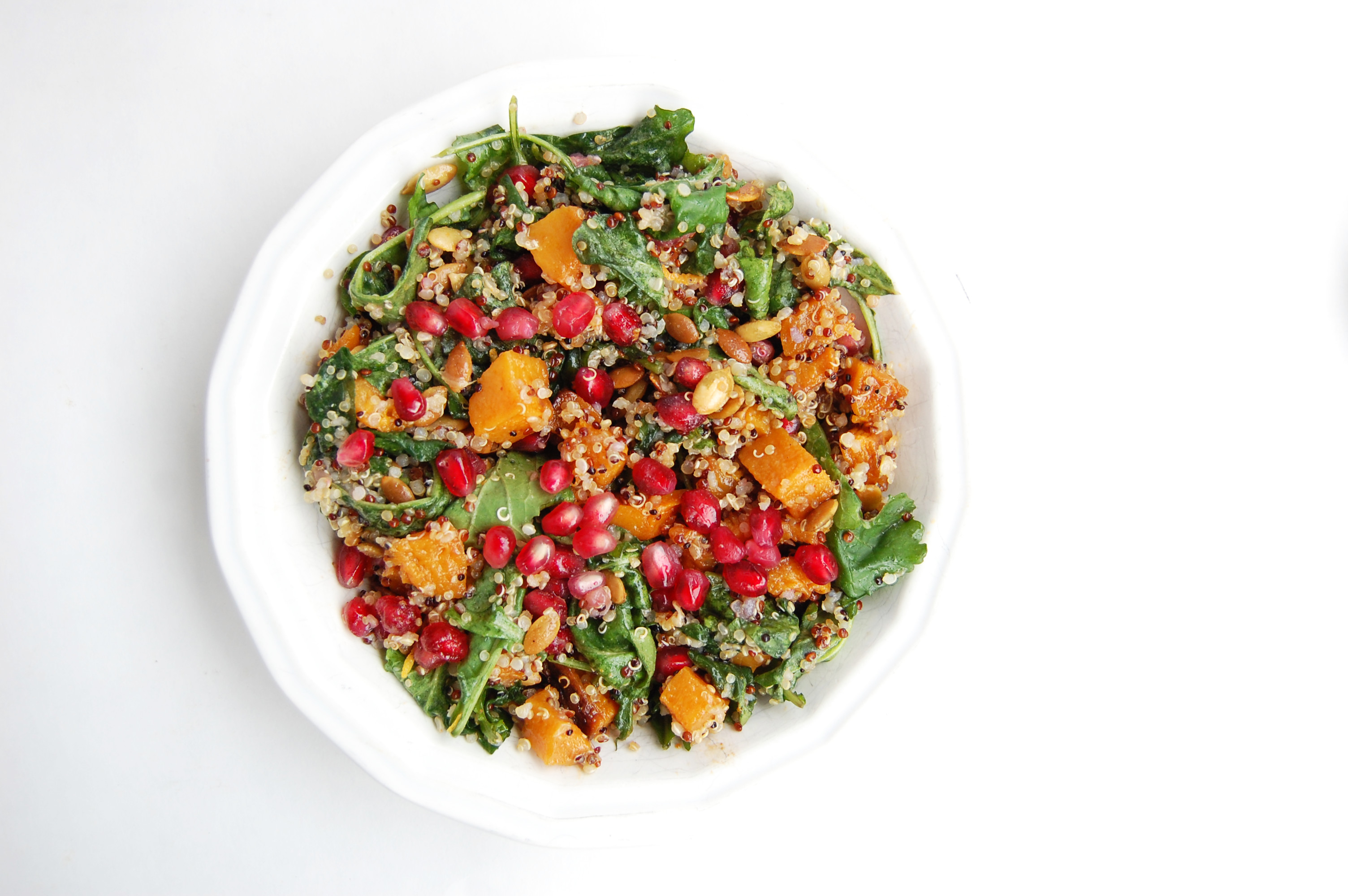 Butternut Squash and Quinoa Harvest Salad | AreYouKitchenMe.com