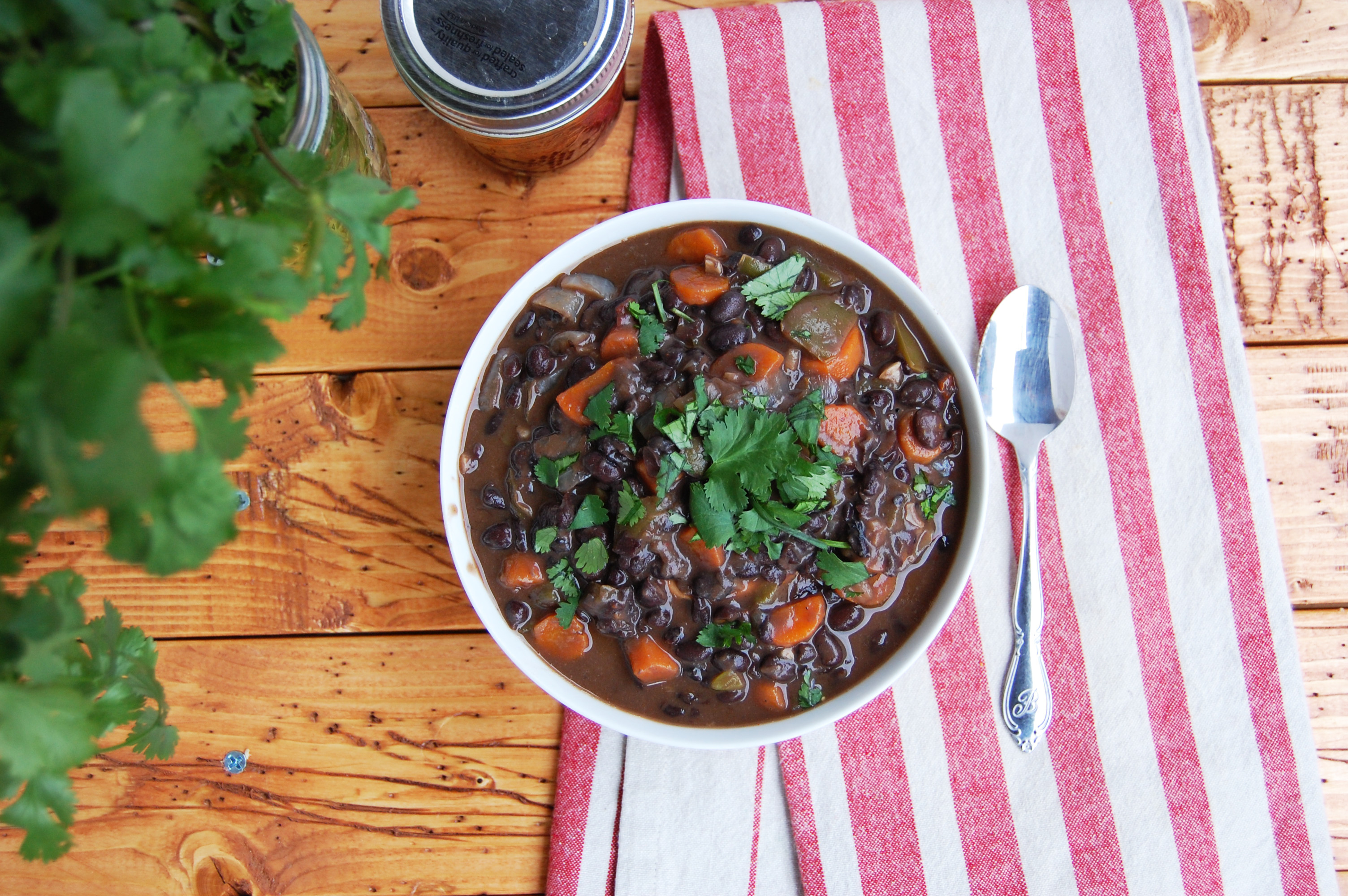 Chipotle Black Bean Soup | AreYouKitchenMe.com