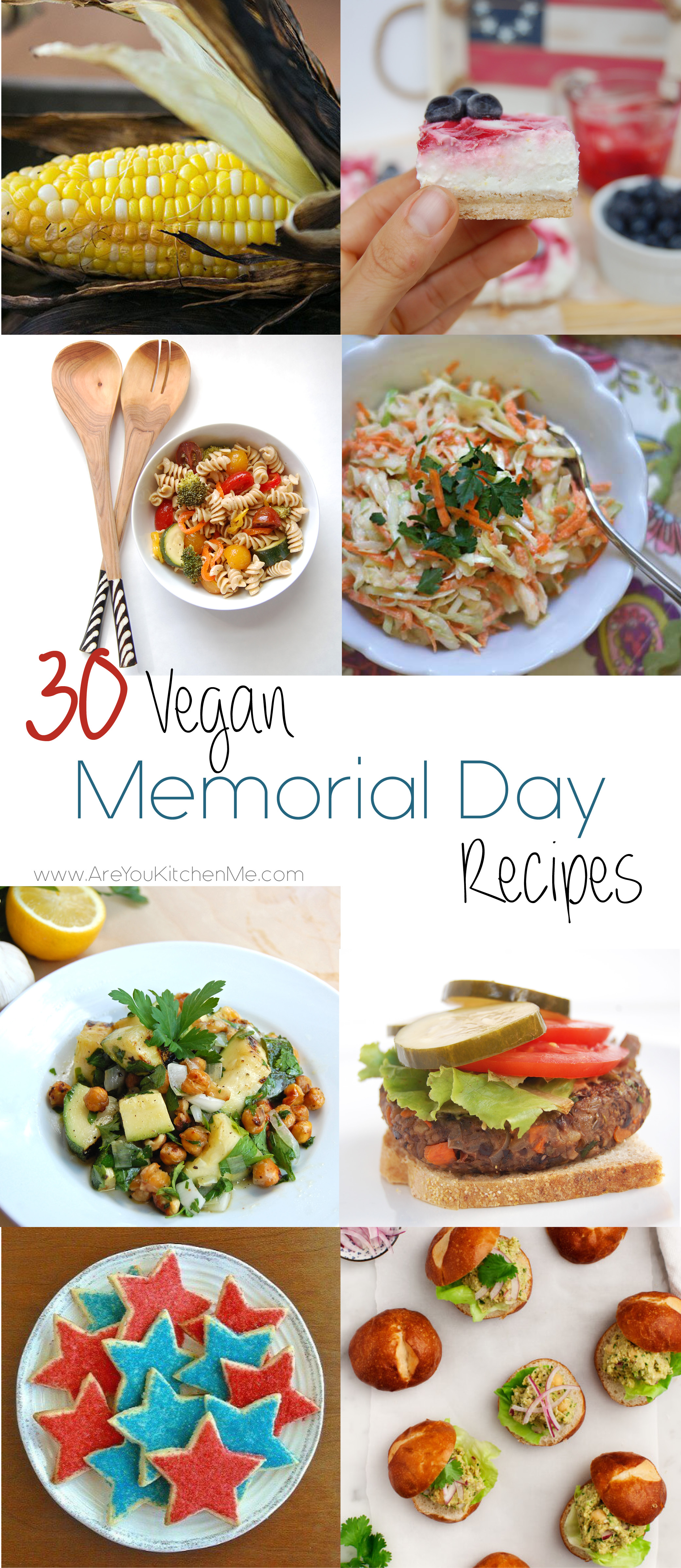 30 Vegan Memorial Day Recipes | AreYouKitchenMe.com