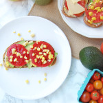 Summer Vegetable Tartine | AreYouKitchenMe.com