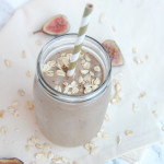 Fig Cookie Smoothie | AreYouKitchenMe.com