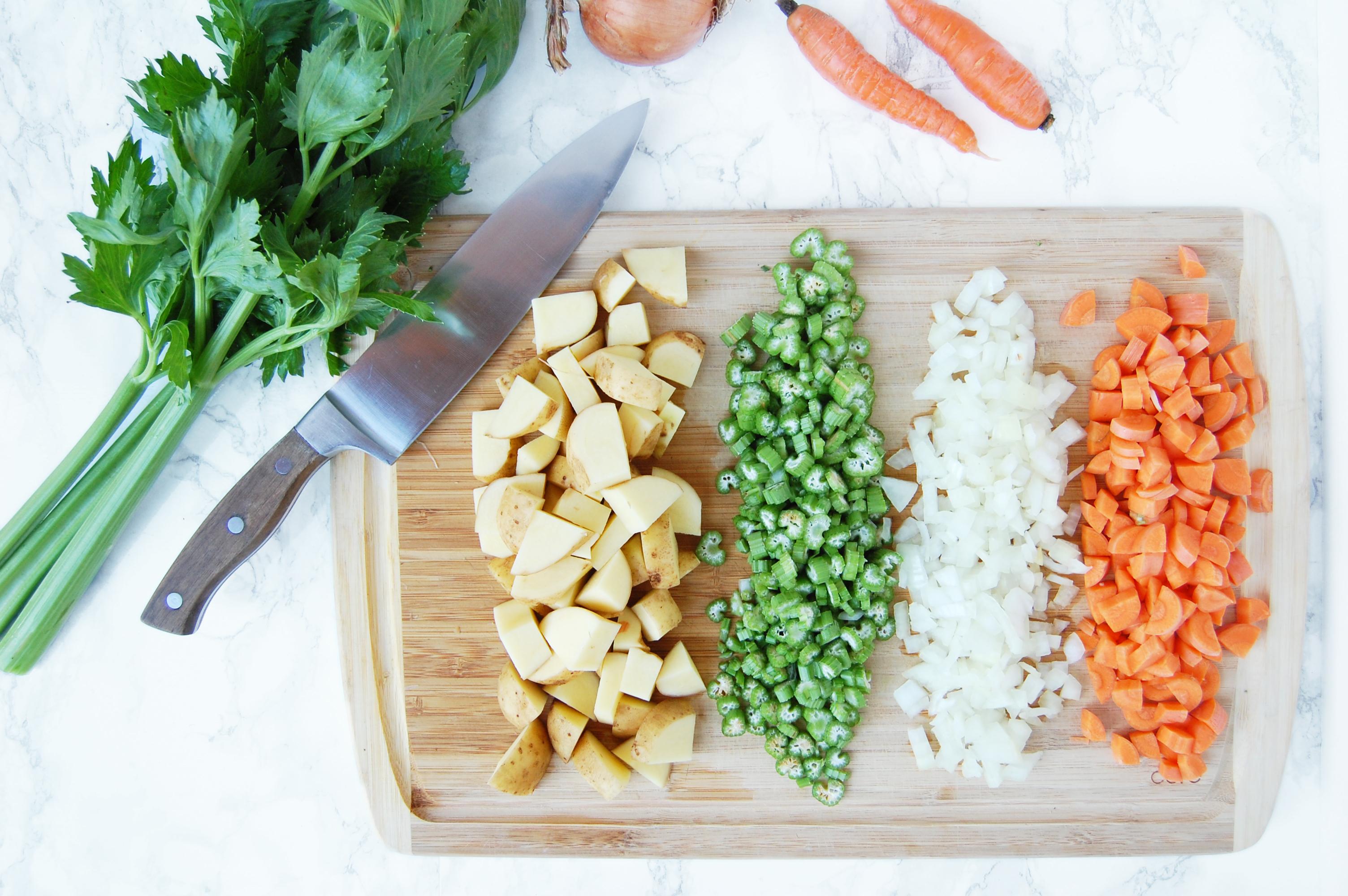 Vegan Split Pea Soup | AreYouKitchenMe.com