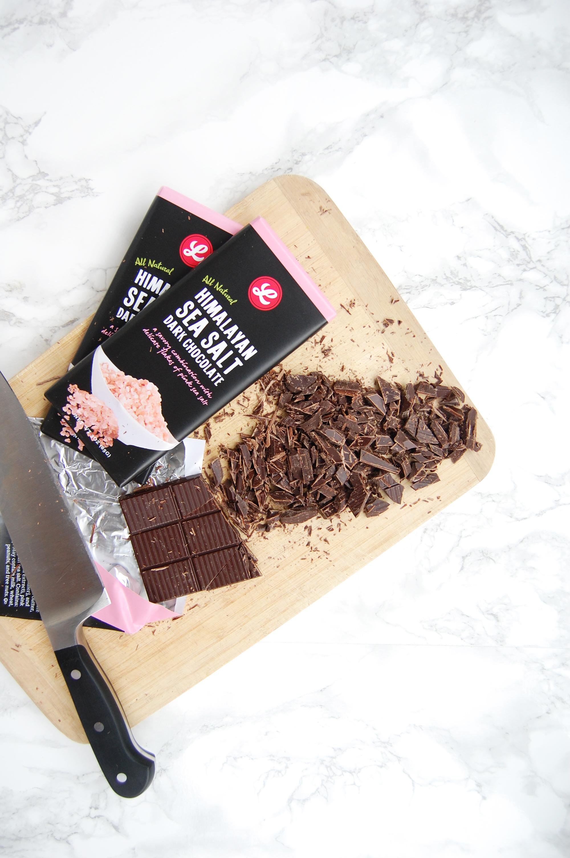 Salted Dark Chocolate Chunk Cookies | AreYouKitchenMe.com