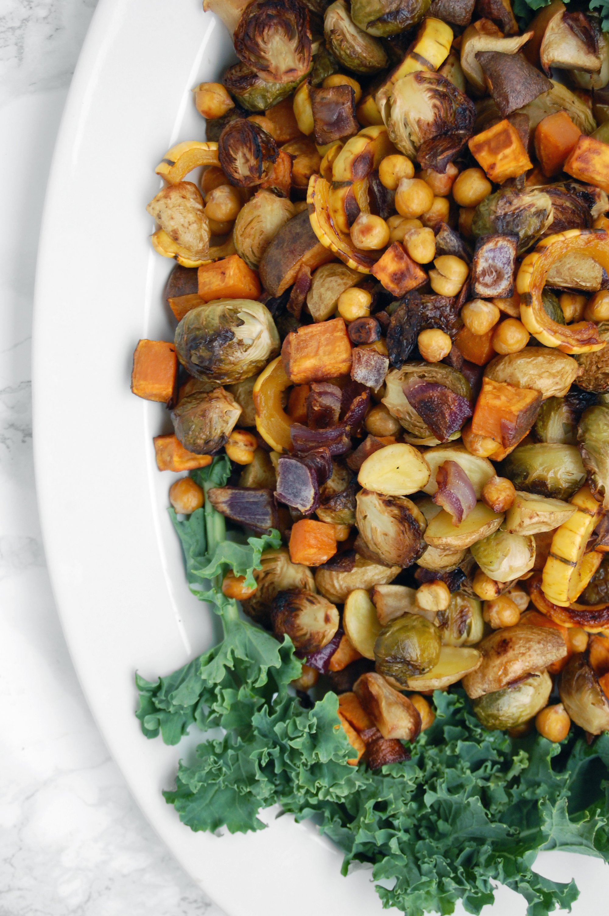 Autumn Vegetable Sheet Pan Dinner | AreYouKitchenMe.com