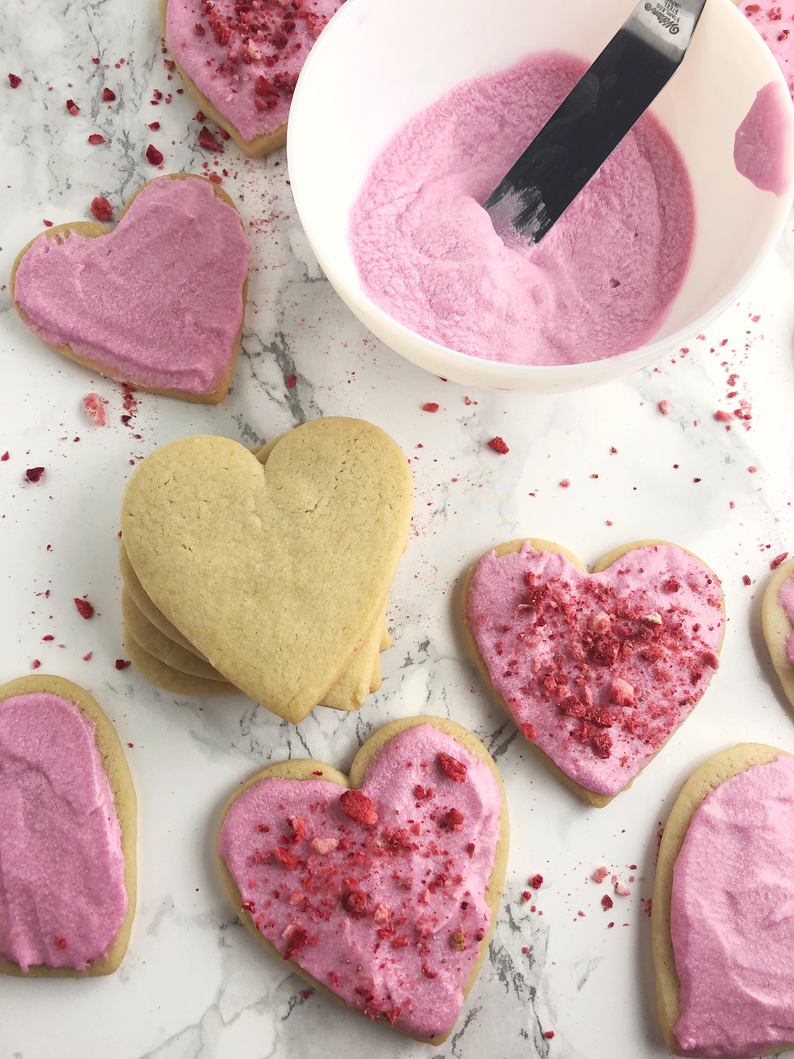 Classic Sugar Cookies (vegan) | AreYouKitchenMe.com