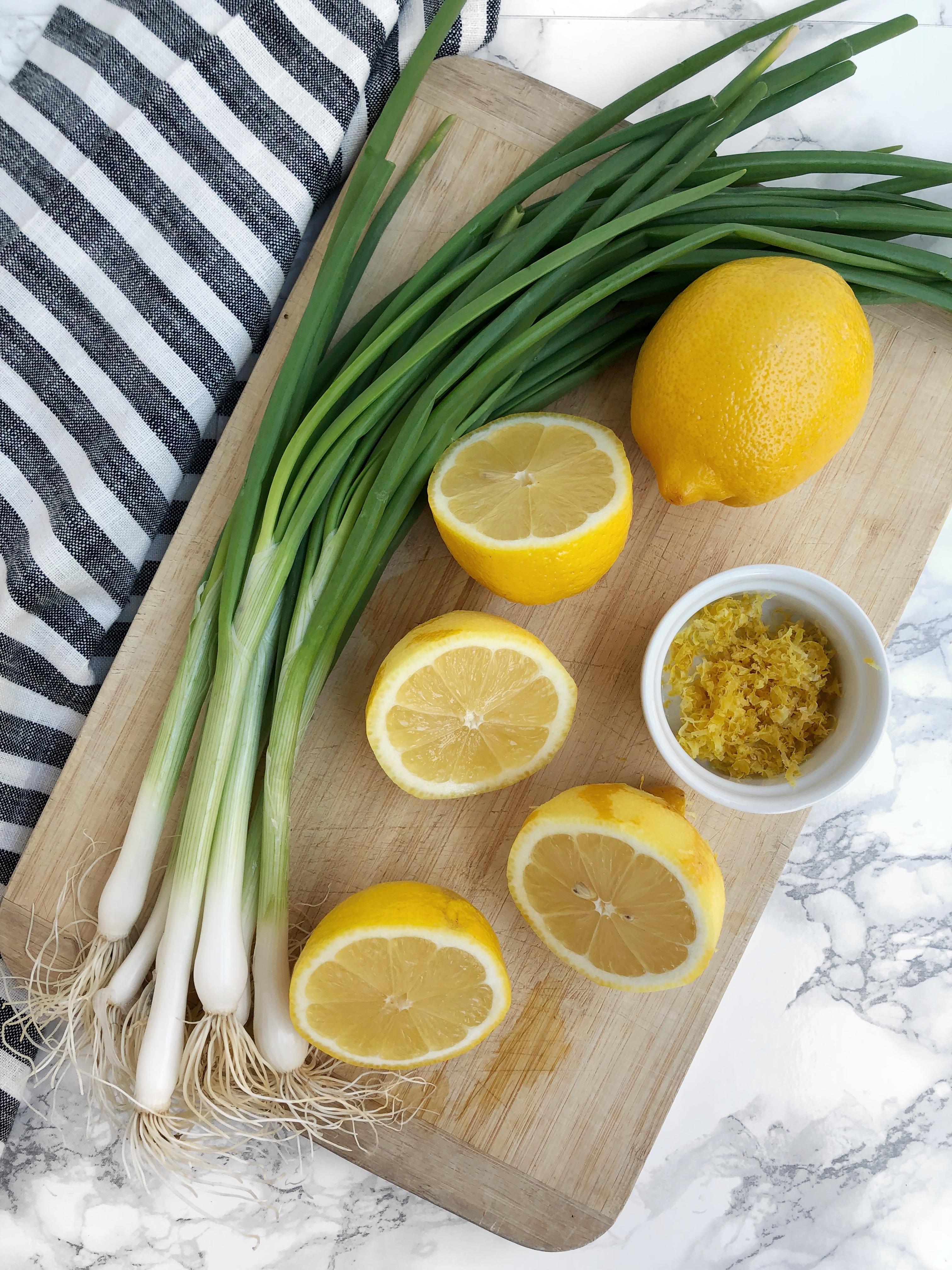 Spring Onion Lemon Orecchiette | AreYouKitchenMe.com