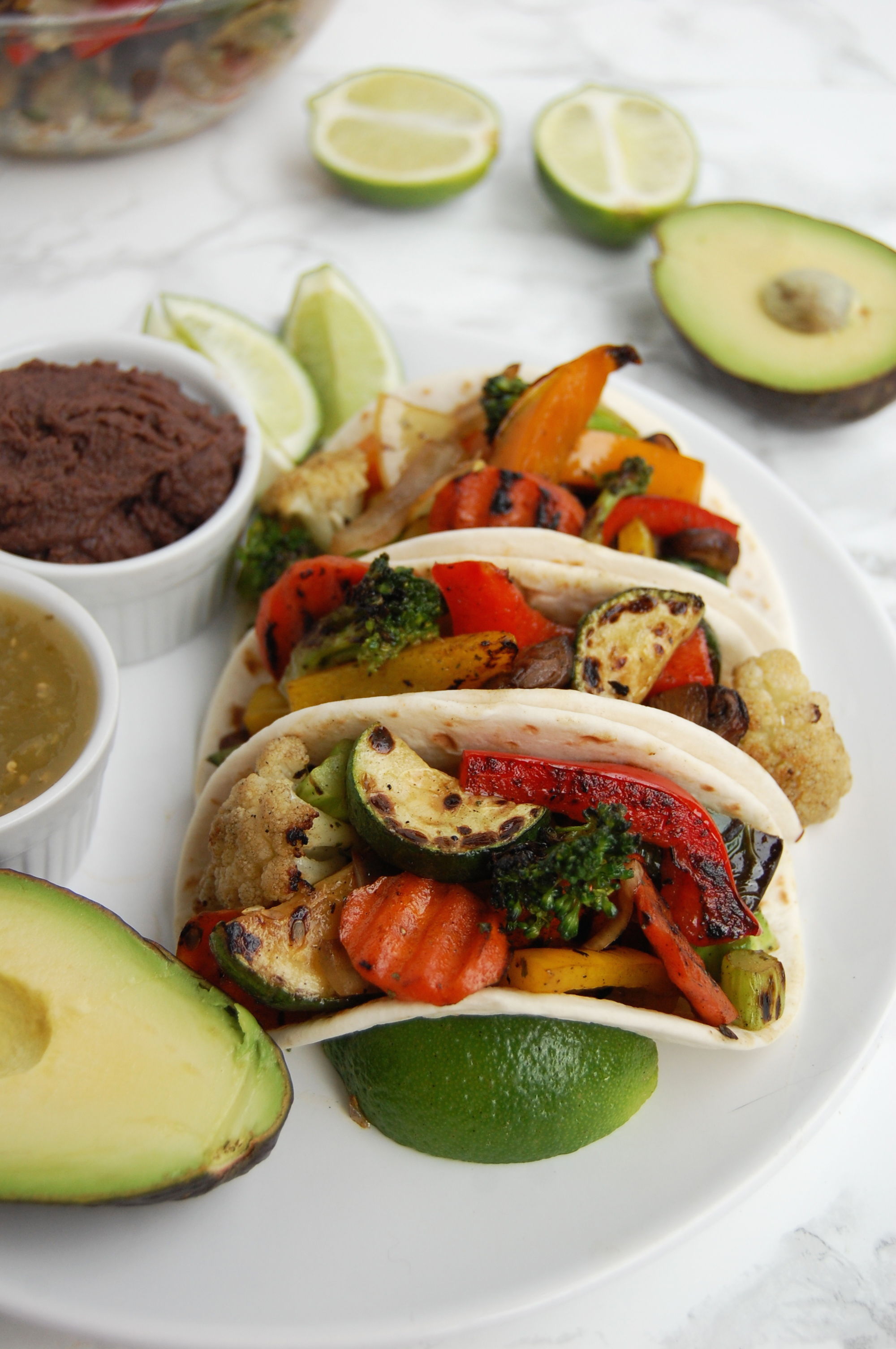 Loaded Veggie Tacos | AreYouKitchenMe.com