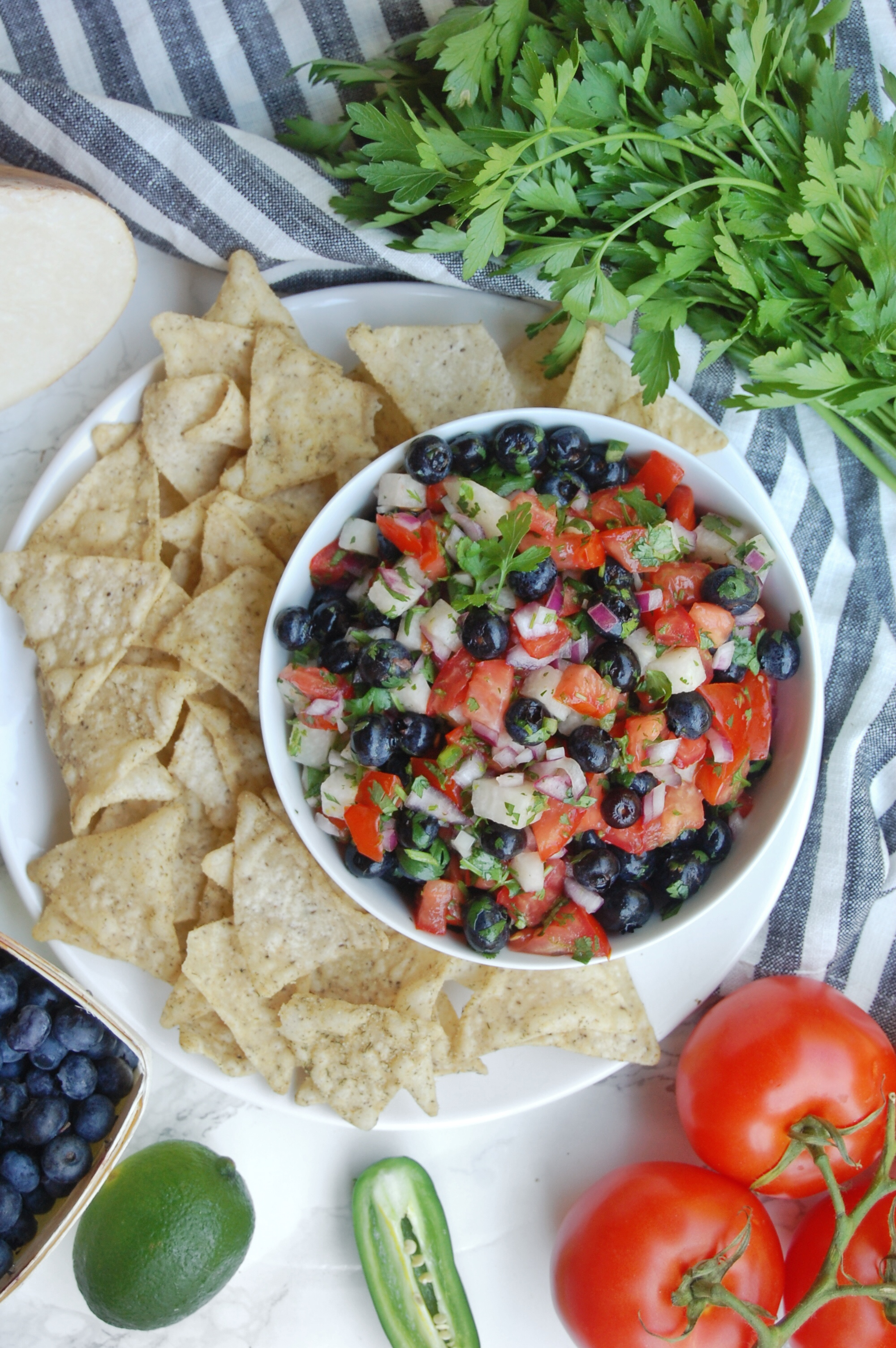Blueberry Salsa | AreYouKitchenMe.com
