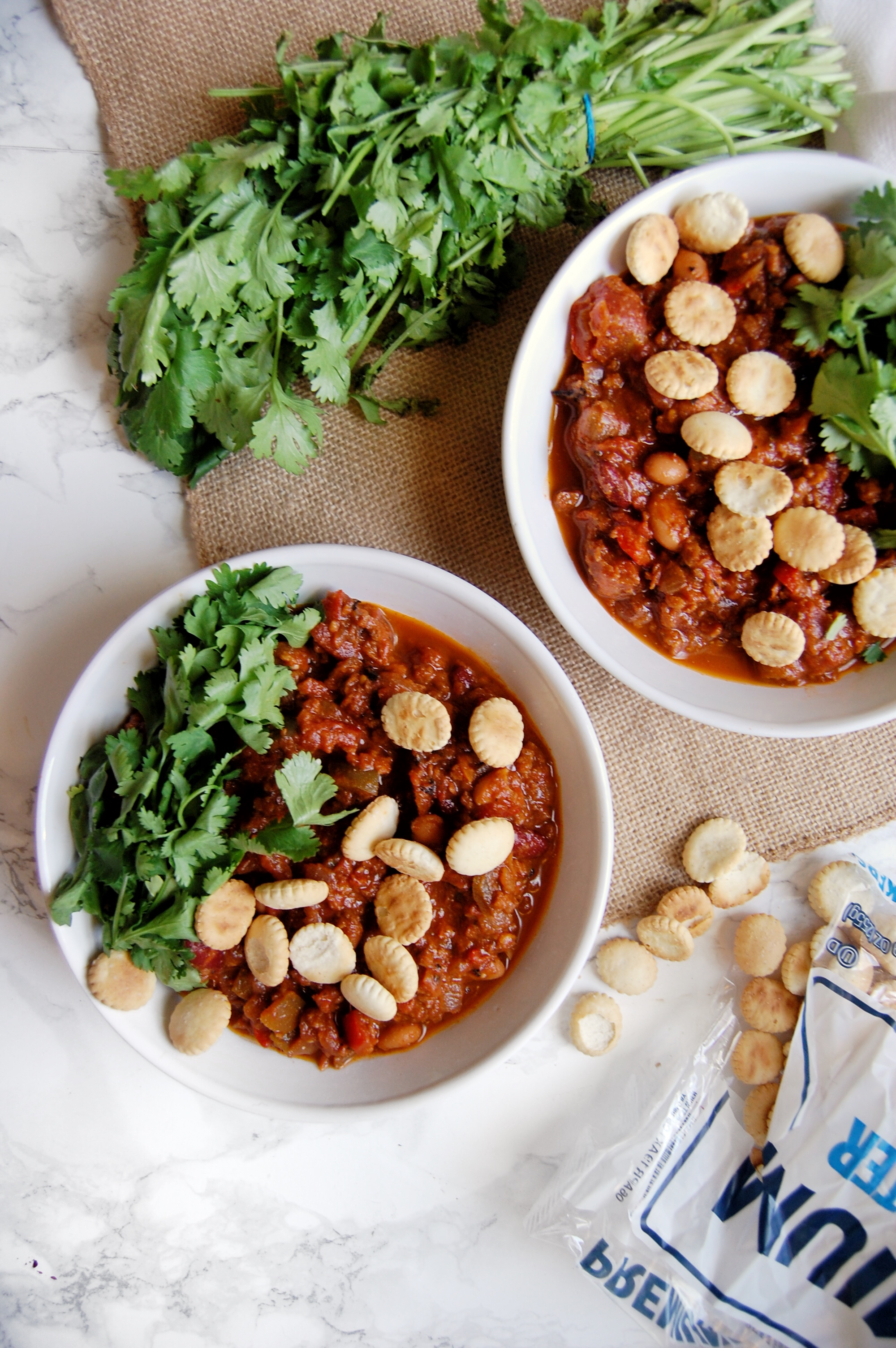 John's Vegan Chili | AreYouKitchenMe.com